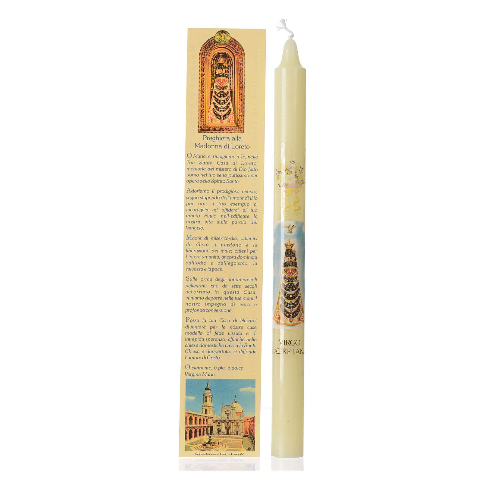 Candelina Madonna di Loreto con astuccio 3