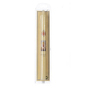 Benedict XVI thin candle with case s2