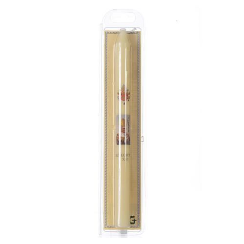 Benedict XVI thin candle with case 2
