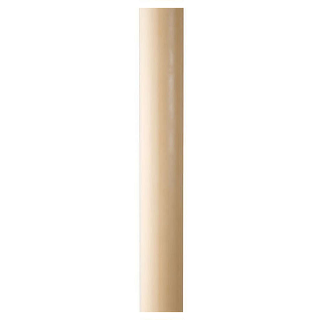 Paschal candle in beeswax with inner reinforcement 8x120cm 3