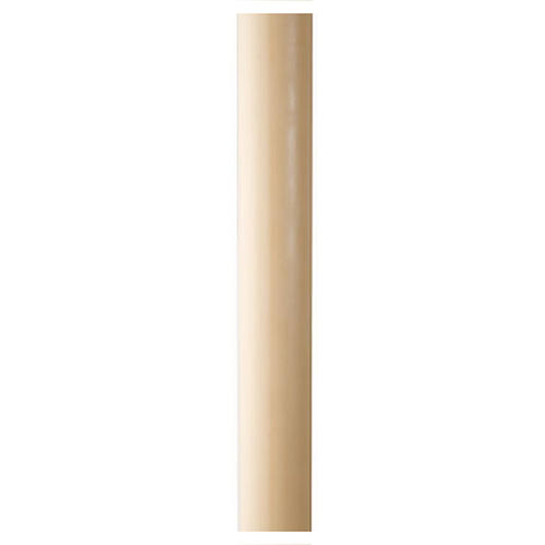Paschal candle in beeswax with inner reinforcement 8x120cm 1