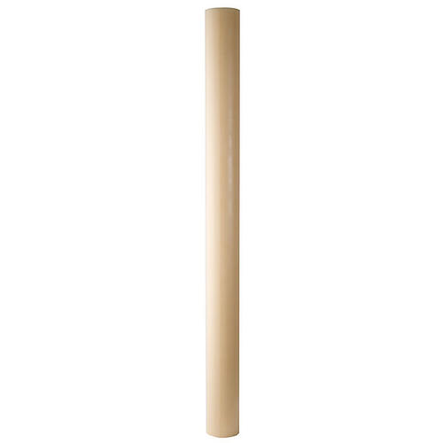 Paschal candle in beeswax with support 8x150cm 2