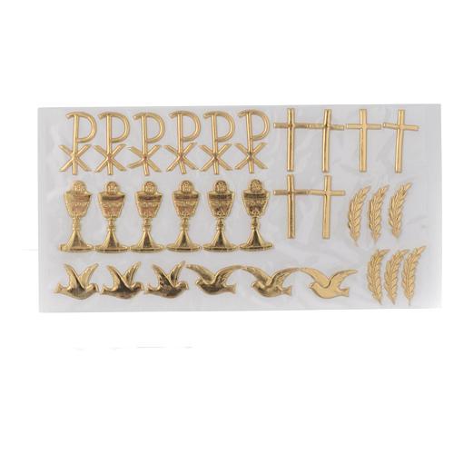 Kit pour décoration bougies Sacrements 1
