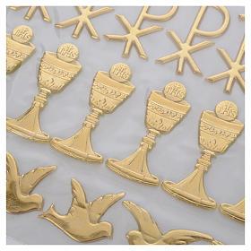 Kit per decorazione candele Sacramenti s6