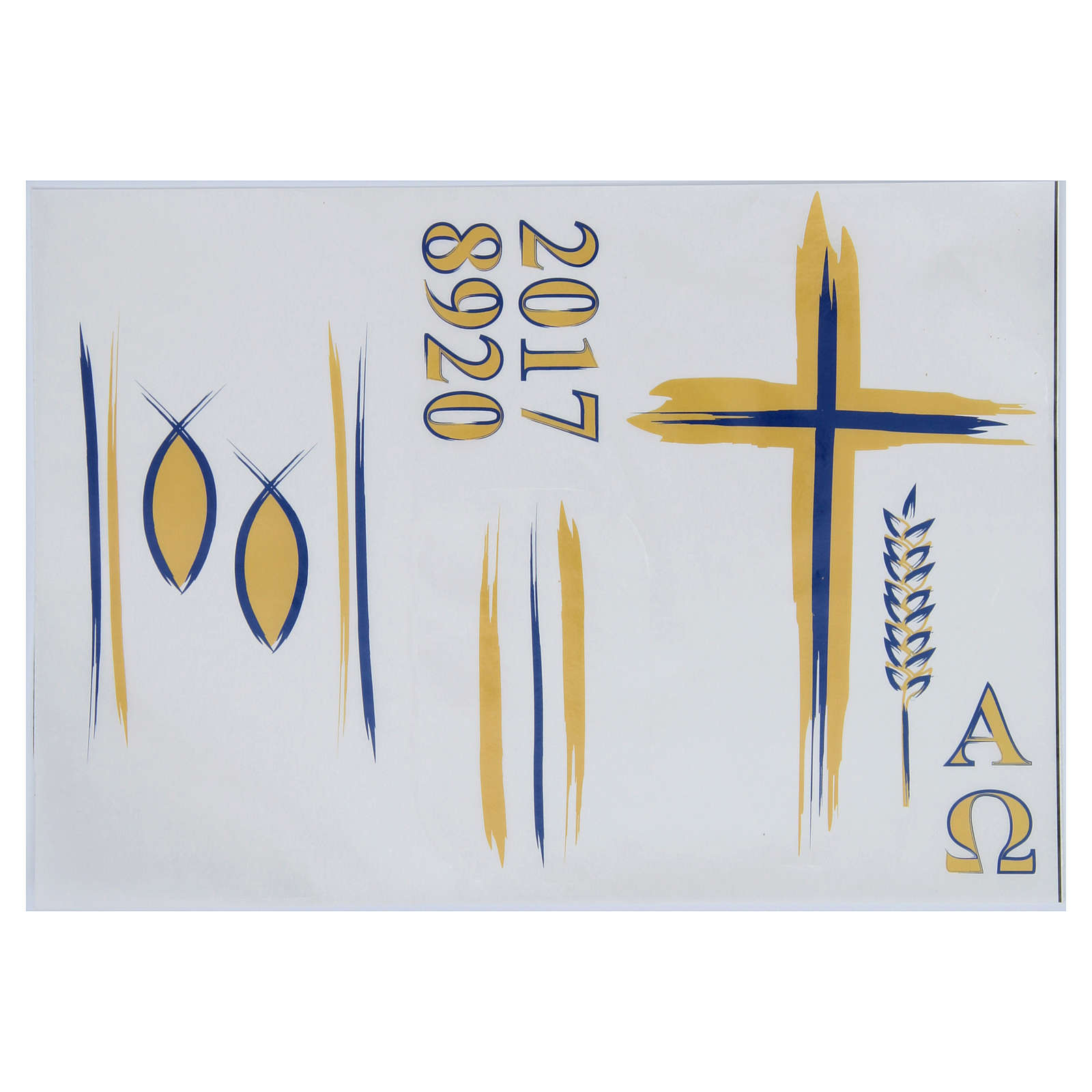 Stickers for Paschal candles, set F 3