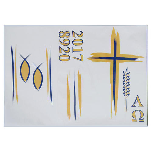 Stickers for Paschal candles, set F 1