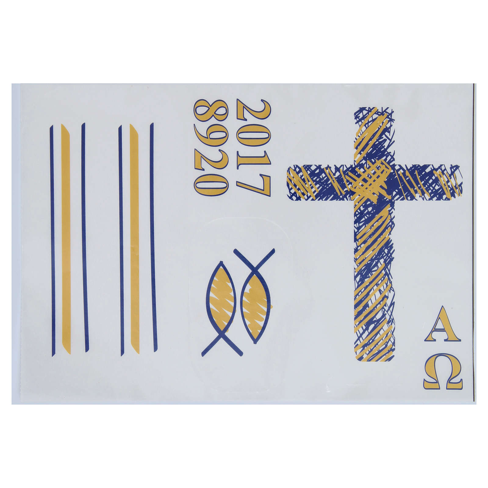 Stickers for Paschal candles, set G 3