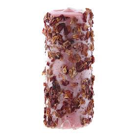 Vela perfumada rosa s1