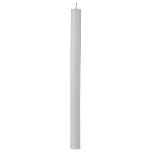 White Taper Candles 350x26 mm (55 pieces) 1