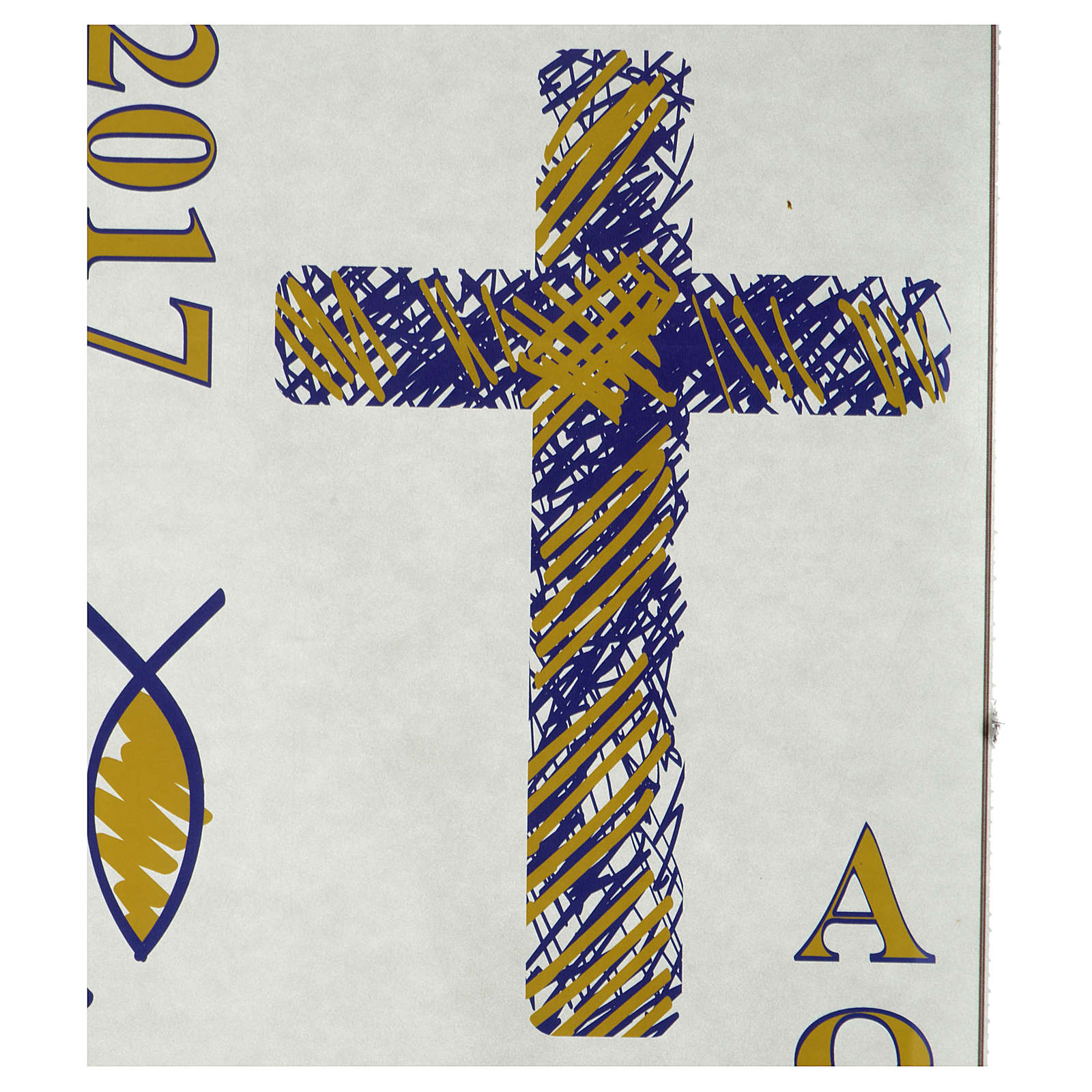 Paschal Candle Sticker, set G 3