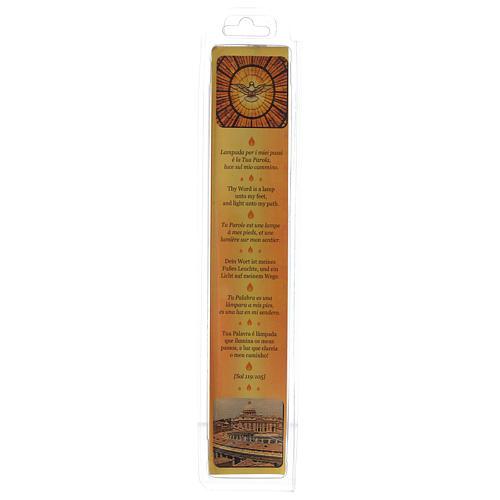 Świeca Mater Ecclesia Rzym wosk pszczeli 3