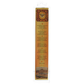 Beeswax Mater Ecclesia candle s3