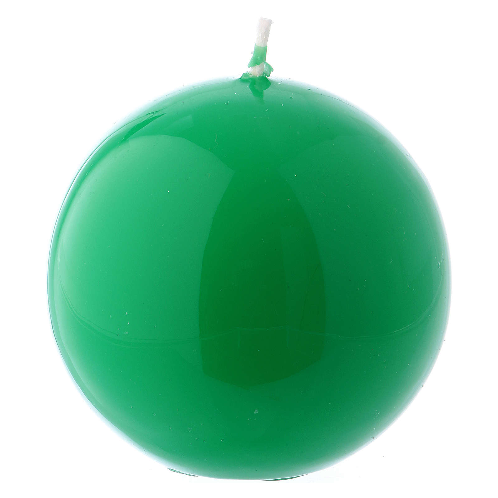 Bougie Sphère Brillante Ceralacca diam. 8 cm vert 3