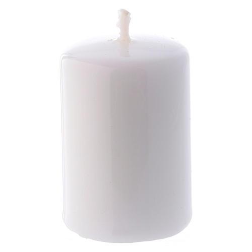 Bougie Brillante Ceralacca 4x6 cm blanche 1