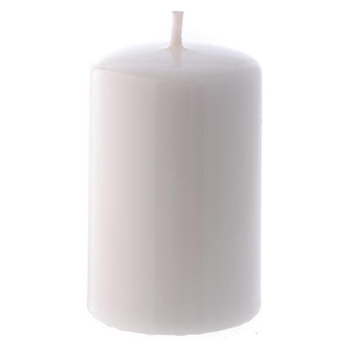 Candelotto Lucido Ceralacca 5x8 cm bianco 1