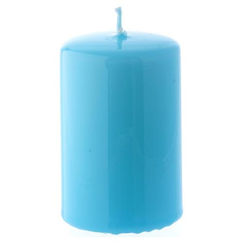 Bougie Brillante Ceralacca 5x8 cm bleu clair 1