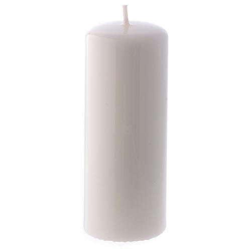 Bougie blanche Brillante Ceralacca 5x13 cm 1