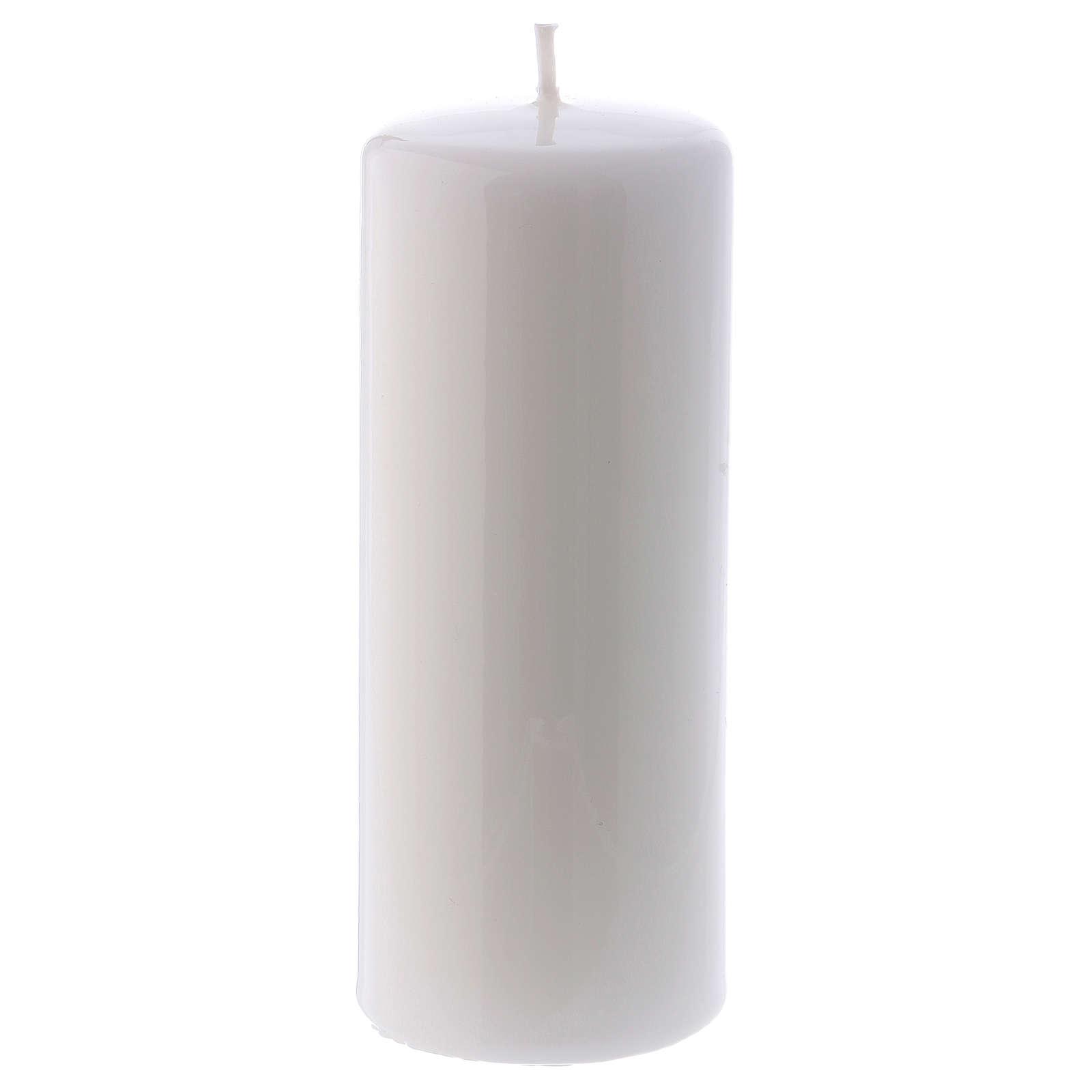 Candelotto bianco Lucido Ceralacca 6x15 cm 3