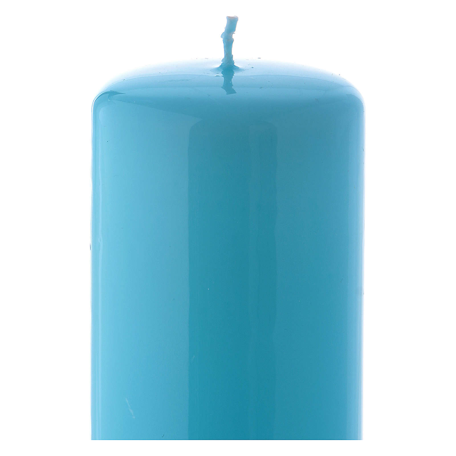 Candelotto azzurro Lucido Ceralacca 6x15 cm 3