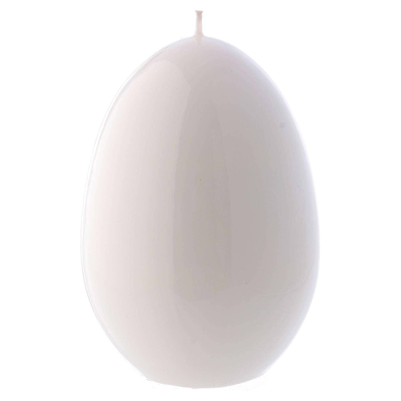 Bougie blanche Brillante Oeuf Ceralacca diam. 100 mm 3