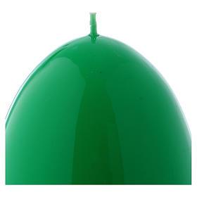 Bougie verte Brillante Oeuf Ceralacca diam. 100 mm s2