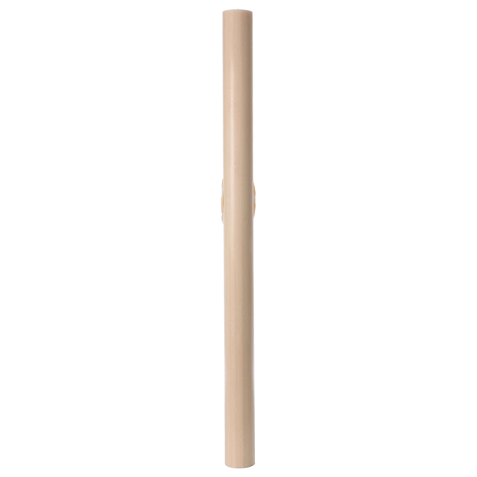 Beeswax Paschal Candle with Boat 8x120 cm WITH REINFORCEMENT 3