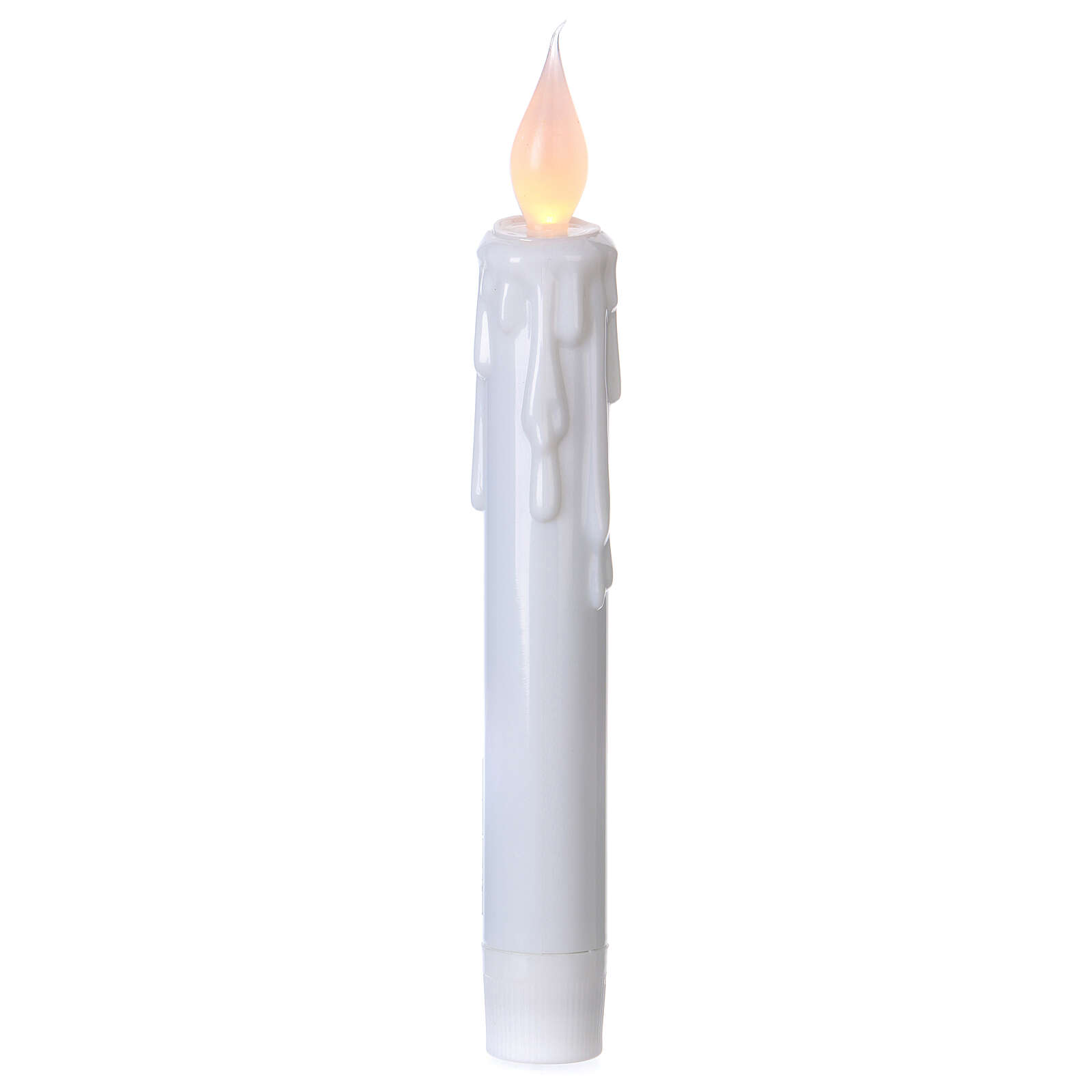 Electric candles with flame effect, battery powered 3