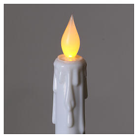 Electric candles with flame effect, battery powered s2
