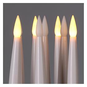 Kit bougies avec télécommande (emballage 10 pcs) s2