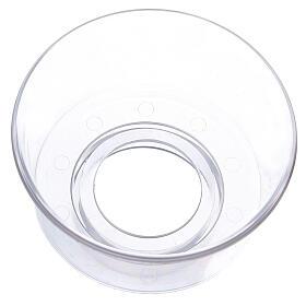 Protège-flamme en verre diam. 6 cm s2