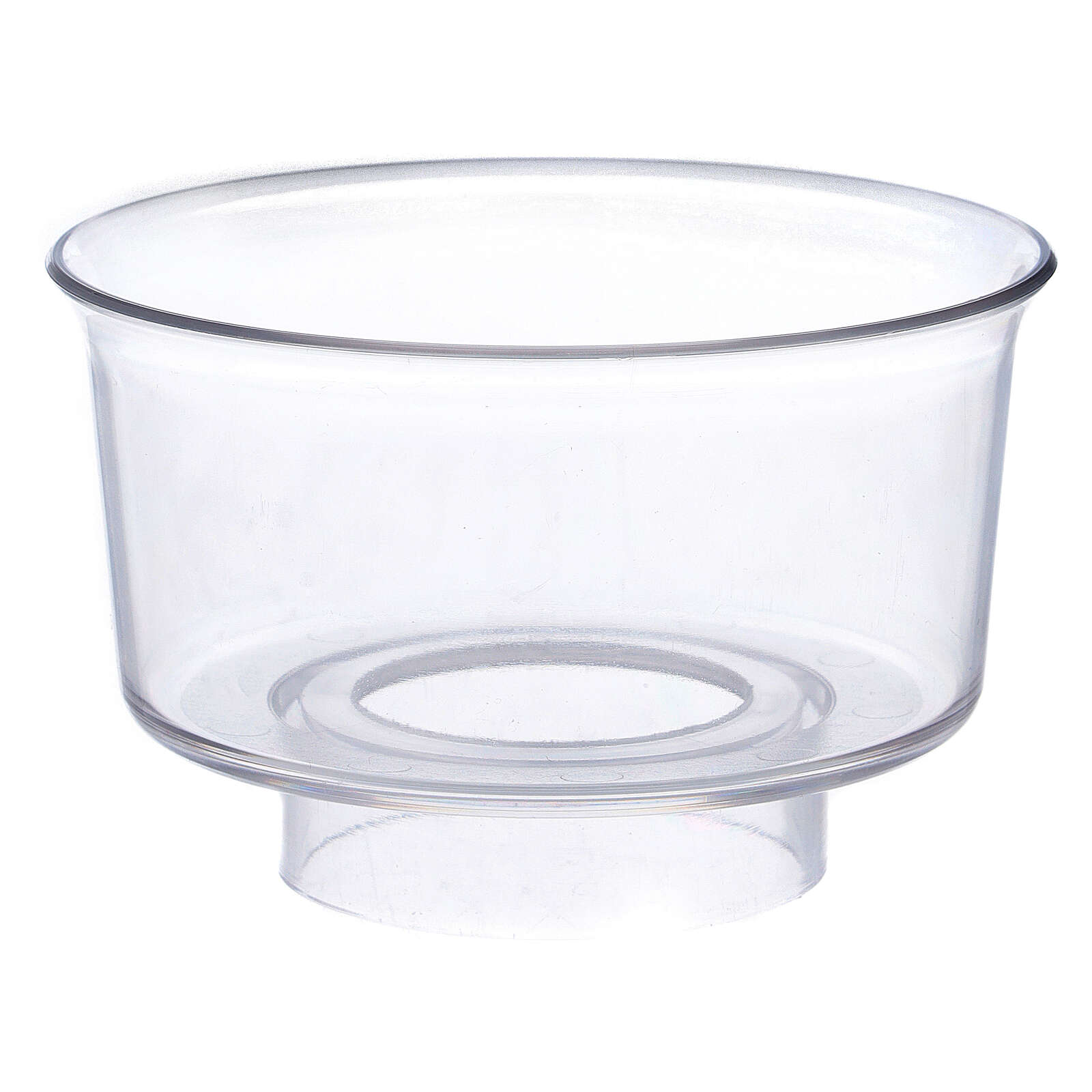 Paravento per candela in vetro diametro 3,2 cm 3