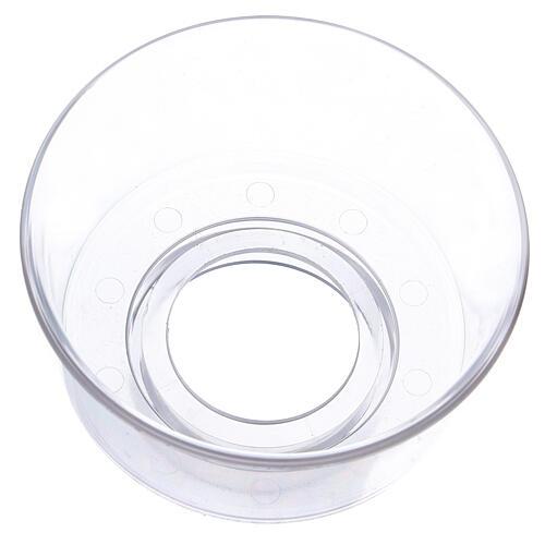 Paravento per candela in vetro diametro 3,2 cm 2