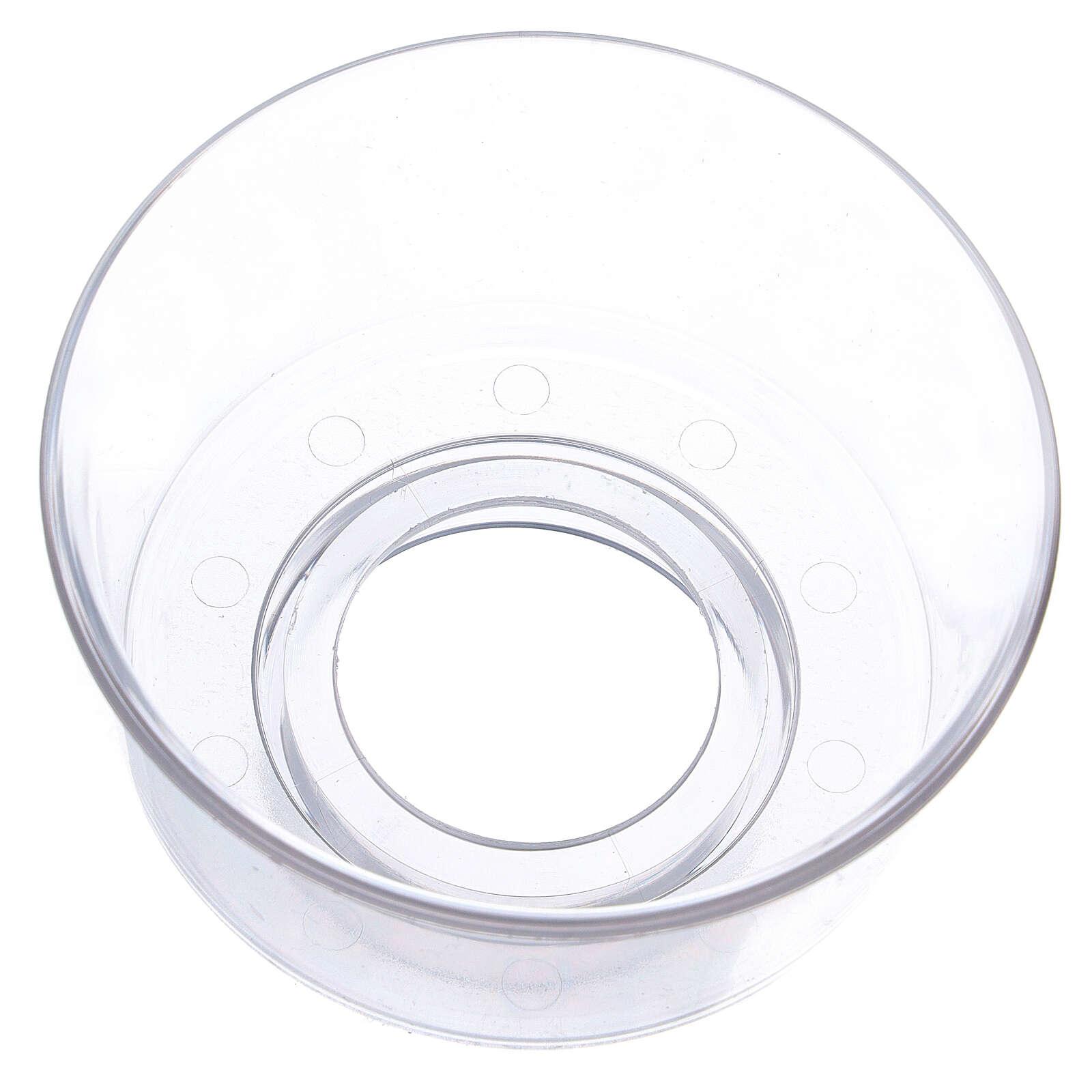 Protège-flamme en verre diam. 5 cm 3