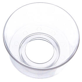 Protège-flamme en verre diam. 5 cm s2