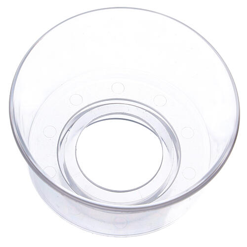 Paravento in vetro diametro 5 cm 2