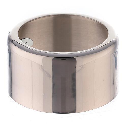 Accessorio candela anello ottone nichelato 8 cm 1