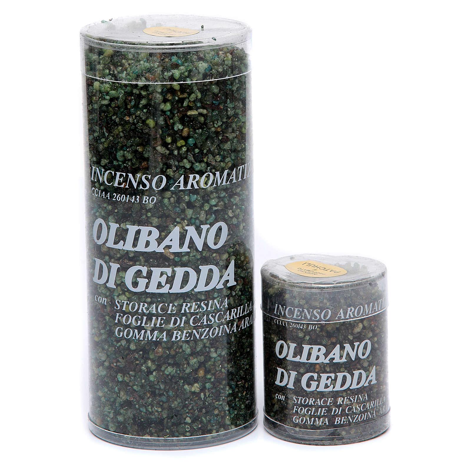 Incenso olibano di Gedda patchouli 3