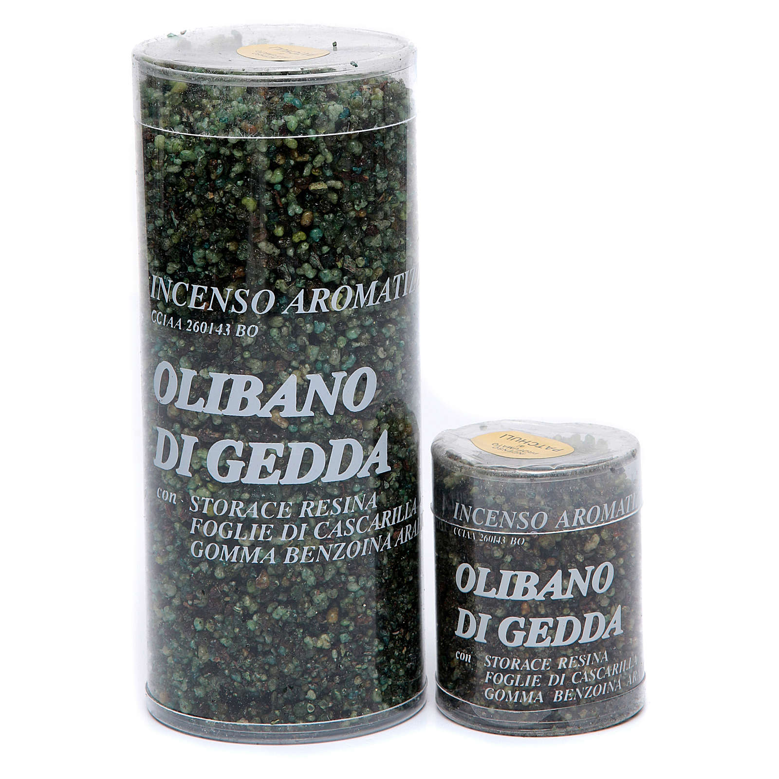 Olibano of Gedda incense Patchouli 3
