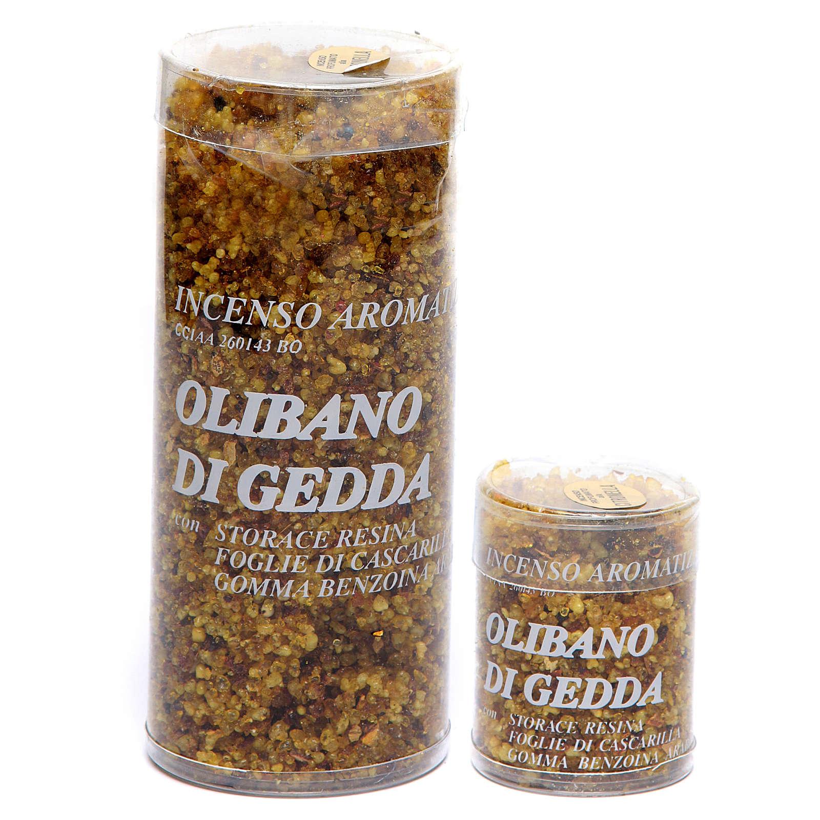 Incenso olibanum de Gidá erva cidreira 3