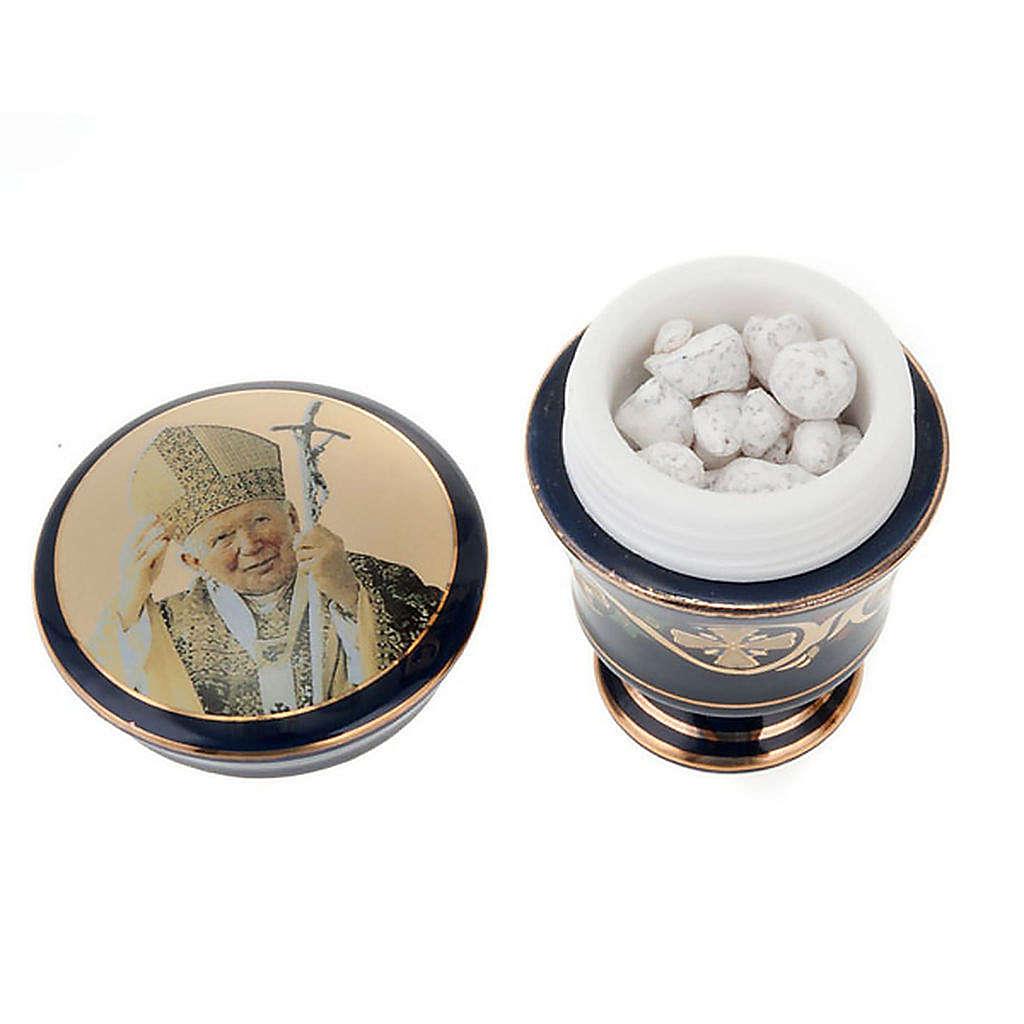 Cofanetto ceramica con incenso profumato 3