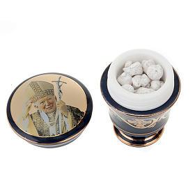 Cofanetto ceramica con incenso profumato s3