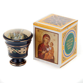Cofanetto ceramica con incenso profumato s4