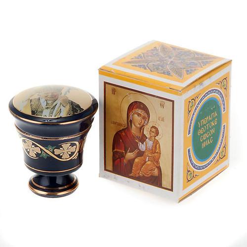 Cofanetto ceramica con incenso profumato 4
