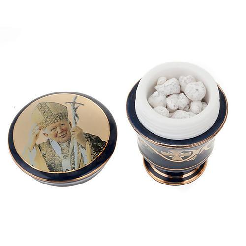 Ceramic case with scented incense 3
