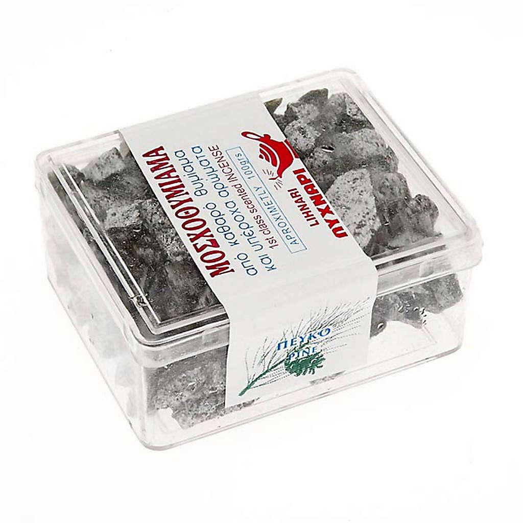 Incenso grego perfumado pinheiro em pedaços 100 gr 3