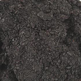 Black styrax incense in glass jar s1