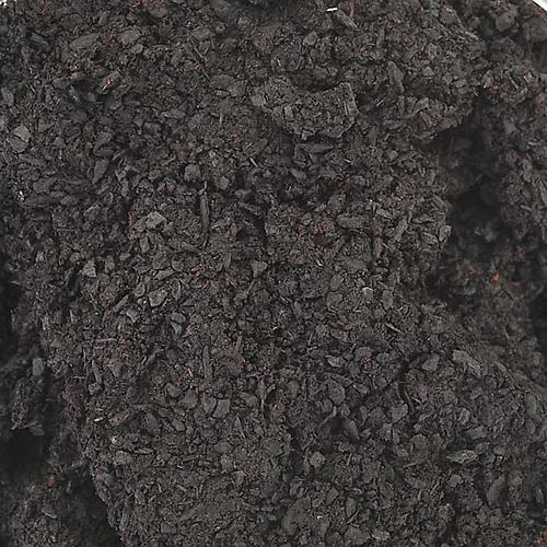Black styrax incense in glass jar 1