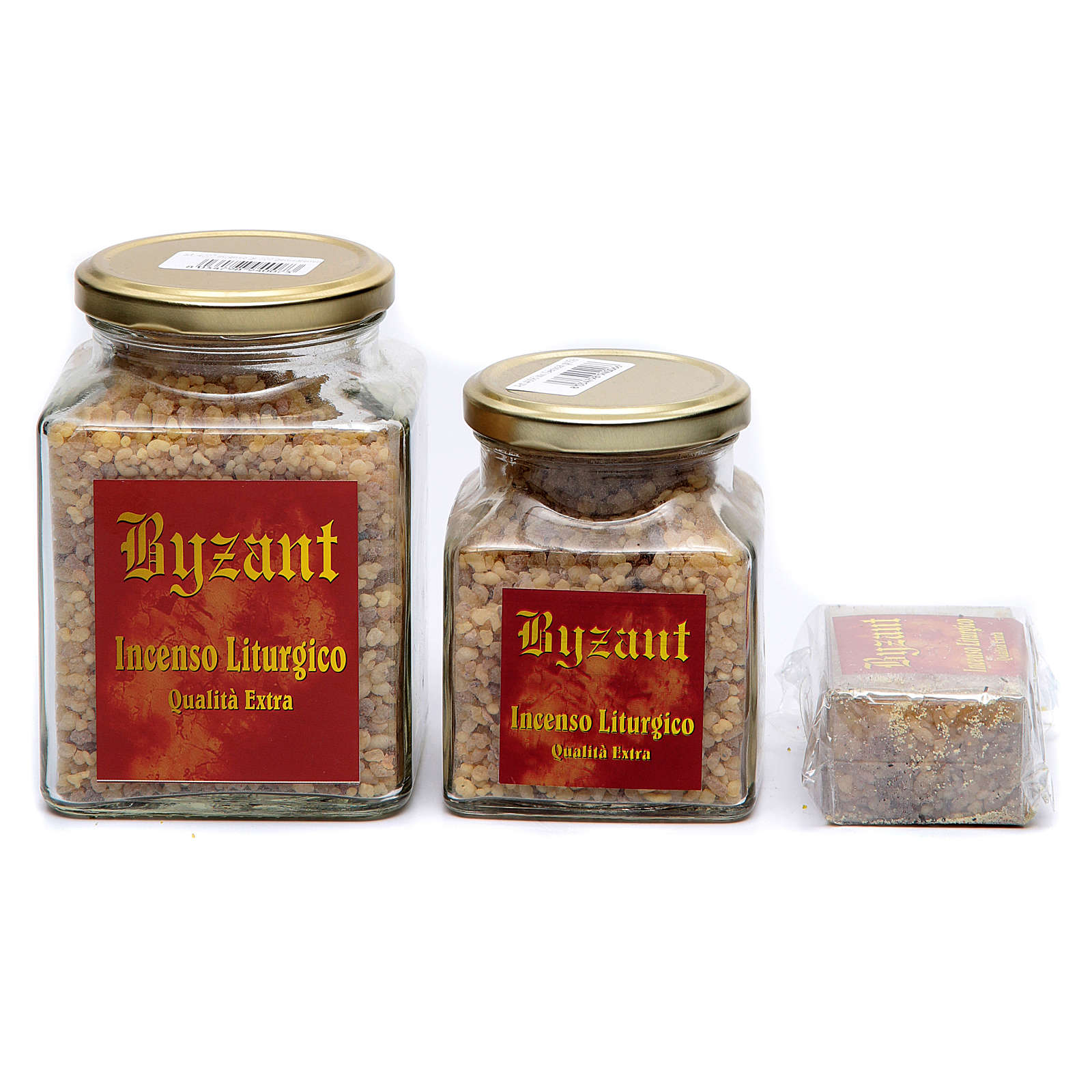 Jerusalem incense in glass jar 3