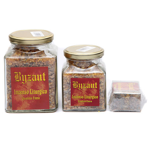 Angelical incense in glass jar 2