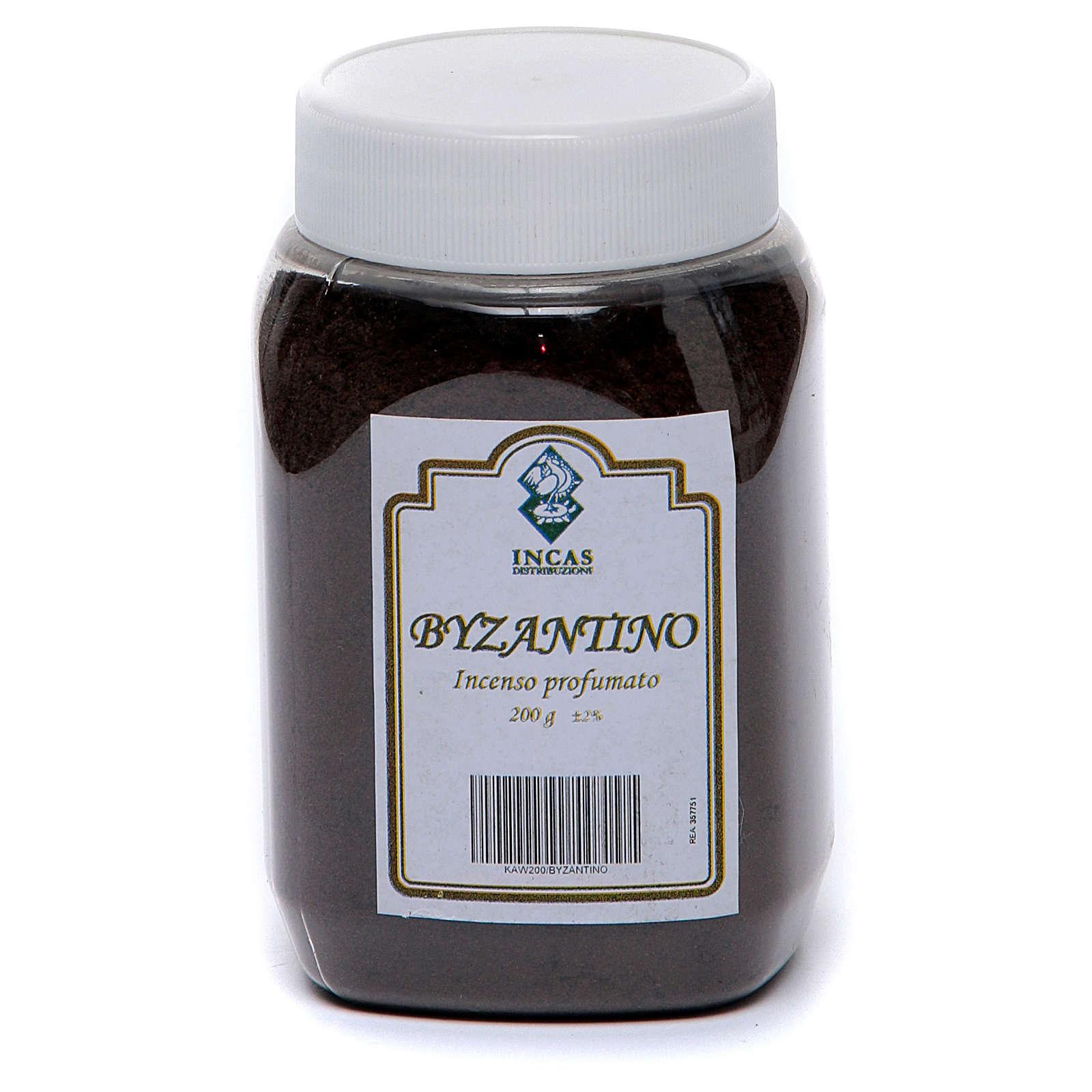 Incenso Byzantino perfumado em pó 200 gr 3